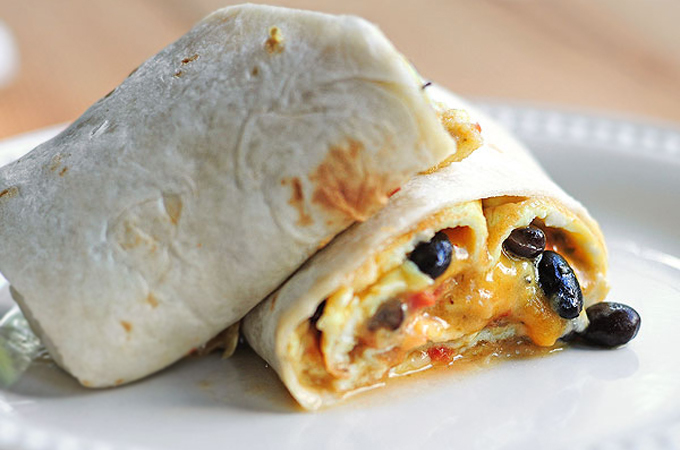 Breakfast Burrito Omelet Recipe