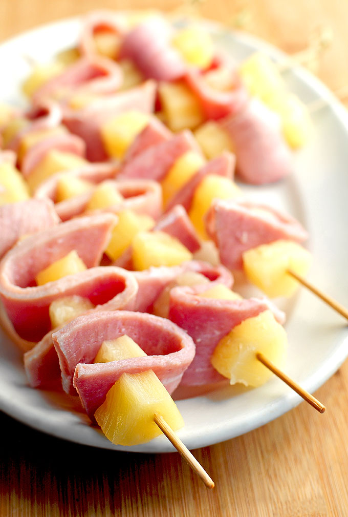Grilled pineapple ham kabobs recipe she wears many hats grilled pineapple ham kabobs recipe forumfinder Gallery