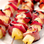 Grilled Pineapple Ham Kabobs Recipe
