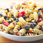 Southwestern Black Bean Pasta Salad Recipe