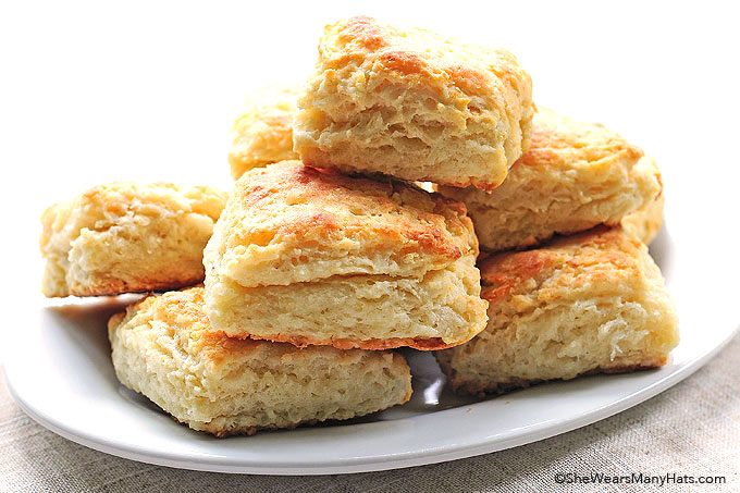 Buttermilk Biscuits Recipe shewearsmanyhats.com