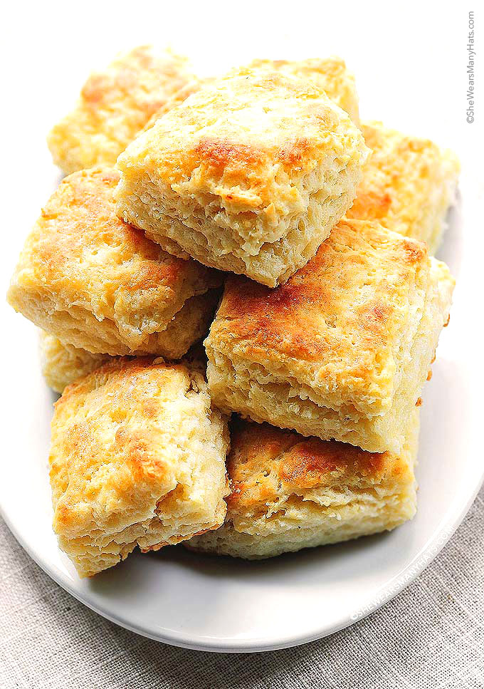 These Buttermilk Biscuits are the perfect fluffy biscuit to enjoy with ...