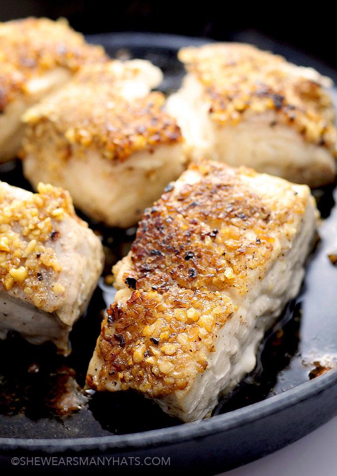 crusted halibut recipes