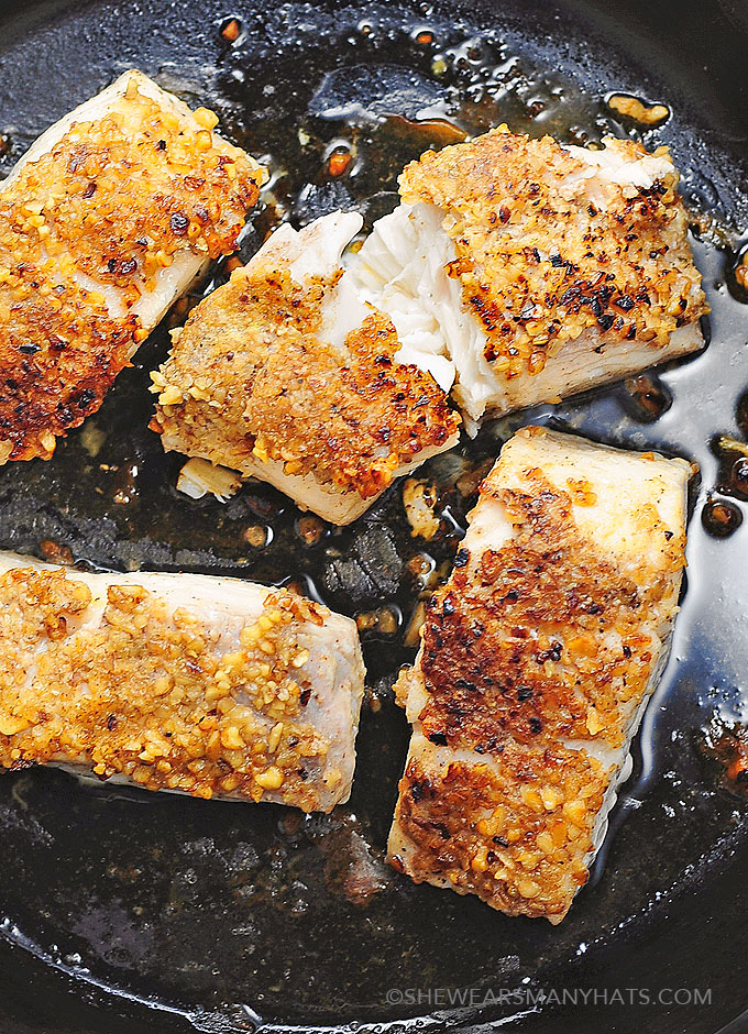 Pecan Encrusted Halibut Recipe