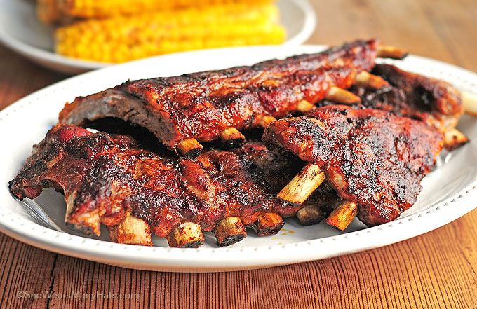 Easy Chipotle Baby Back Ribs Recipe Shewearsmanyhats Com
