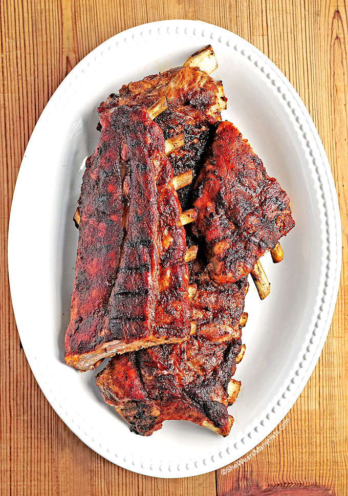 how to cook pork ribs oven then grill