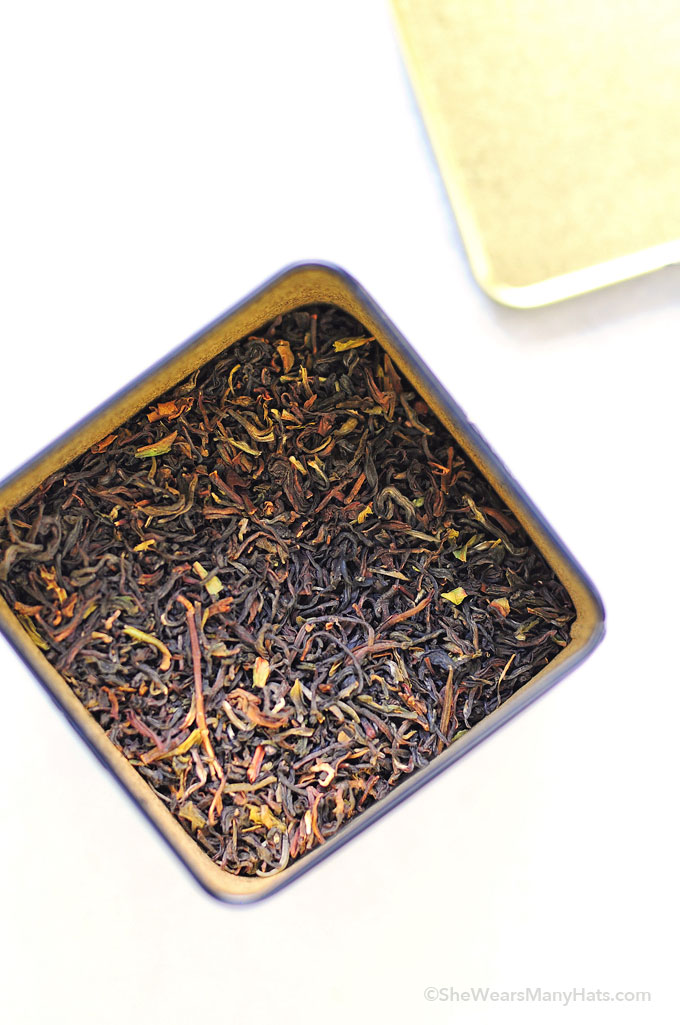How to Make Tea with Loose Leaf Tea
