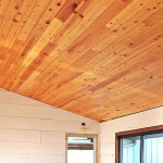 How to Cover a Popcorn Ceiling with Cypress Wood