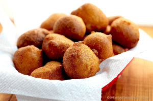 Beer Batter Hush Puppies Recipe