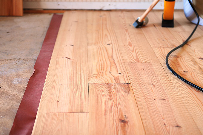 hardwood floors diy