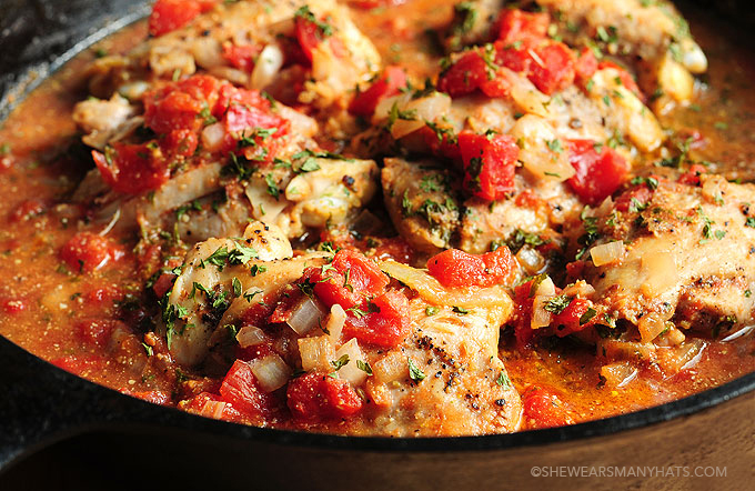 Tomato Braised Chicken Recipe