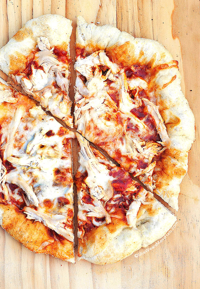 Bbq Chicken Pizza Recipe She Wears Many Hats