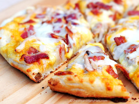 Homemade Bird Dog Pizza Recipe She Wears Many Hats