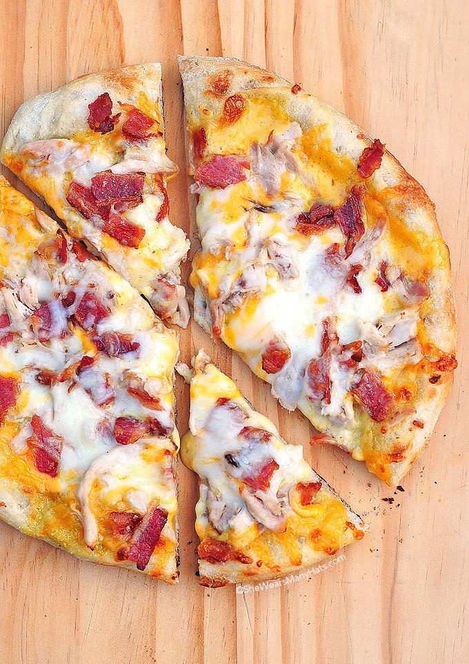 Homemade Bird Dog Pizza Recipe