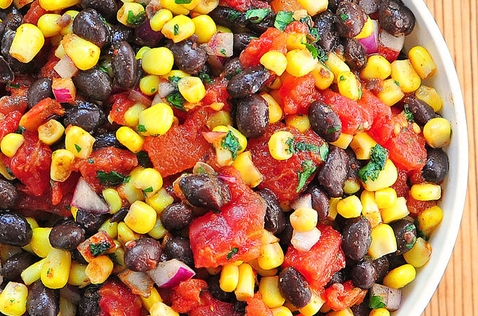 Black Bean Corn Salsa Recipe