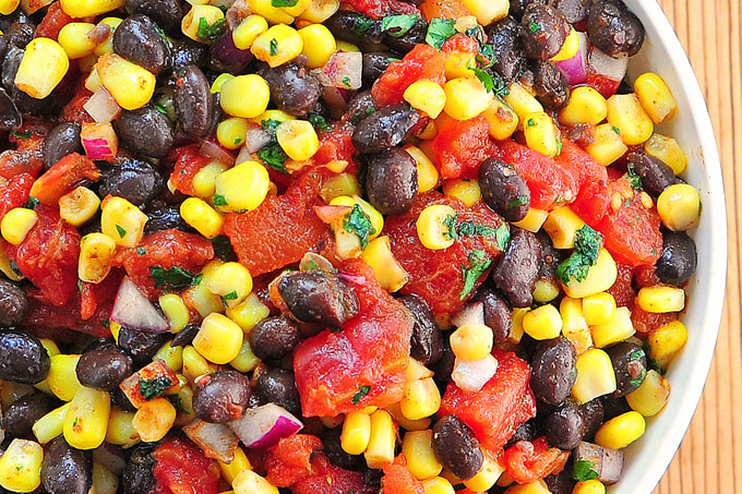 Black Bean and Corn Salsa Recipe | She Wears Many Hats