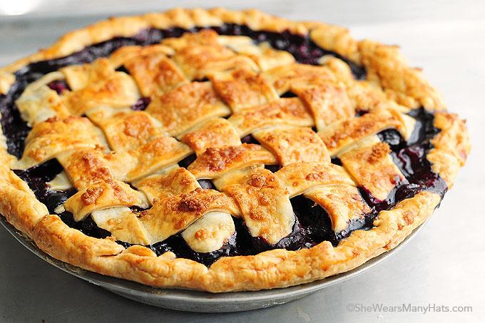 Recipe easy berry pie