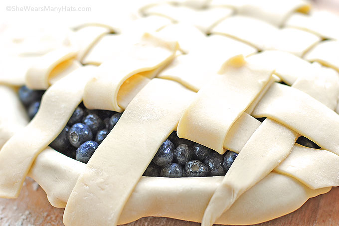 lattice top pie