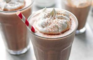 Peanut Butter Chocolate Milkshake Recipe