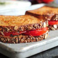 Mozzarella Basil Tomato Sandwich Recipe