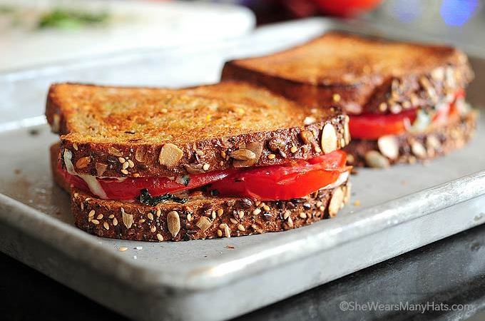 Tomato Basil Sandwich