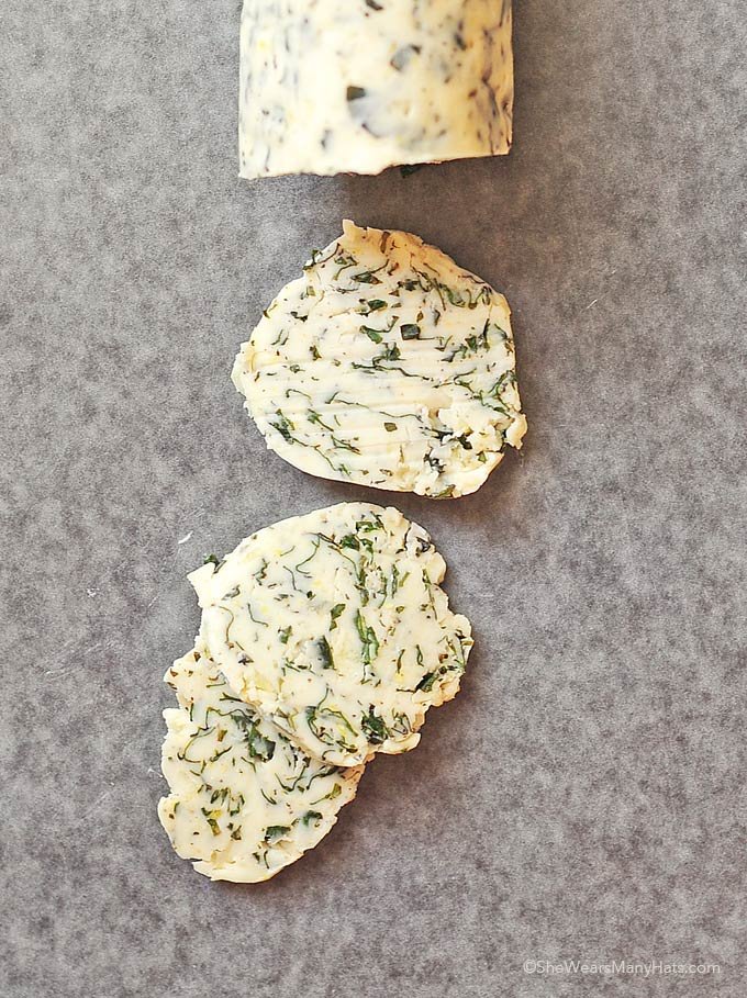 Basil Garlic Butter Recipe