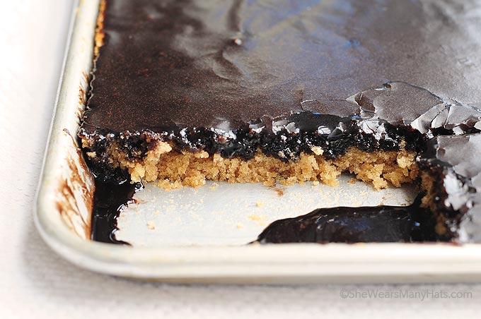 Pioneer Woman Peanut Butter Chocolate Sheet Cake