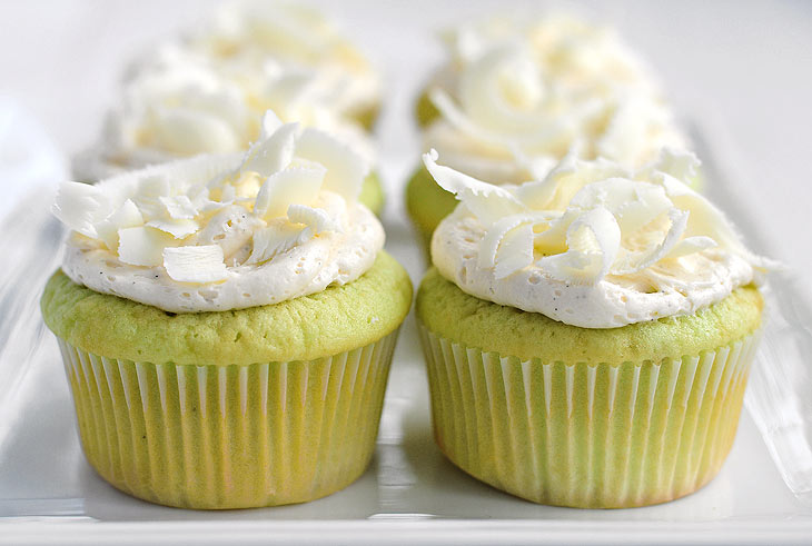 Easy Pudding Pistachio Cupcakes