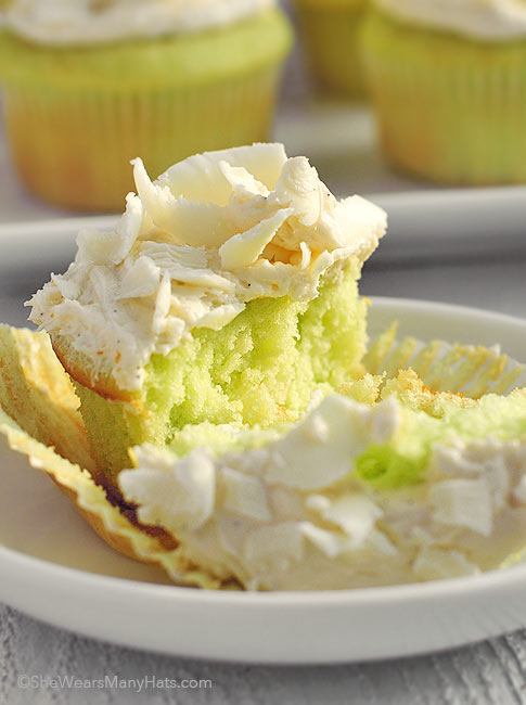Pistachio Cake with White Chocolate Frosting