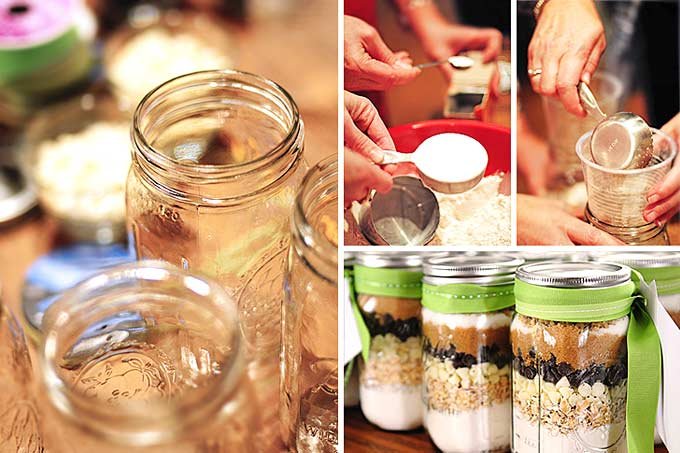how to make cookies in a jar