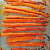 Ginger Honey Roasted Carrots Recipe