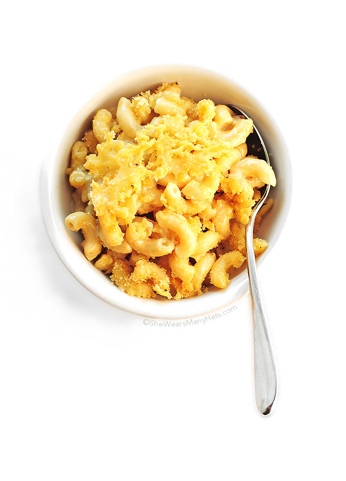 Three Cheese Macaroni and Cheese Recipe | She Wears Many Hats