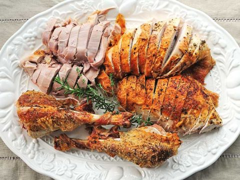 Mayonnaise Roasted Turkey Recipe
