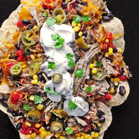 Loaded Pulled Pork Nachos Recipe