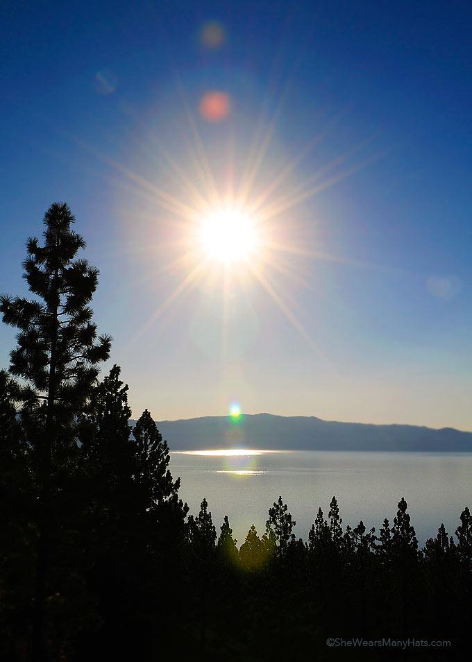 Sunrise in Lake Tahoe