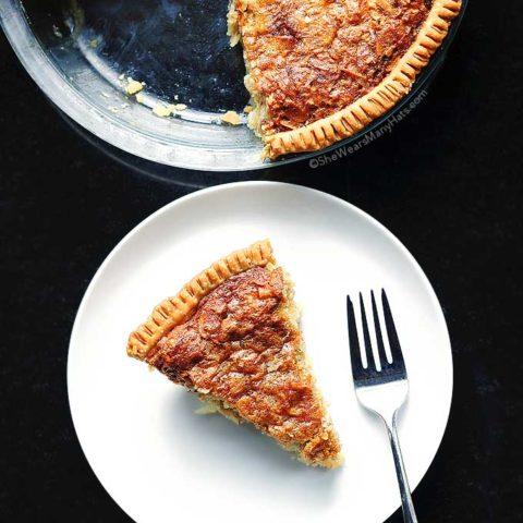 Almond Oatmeal Cheesecake Pie Recipe