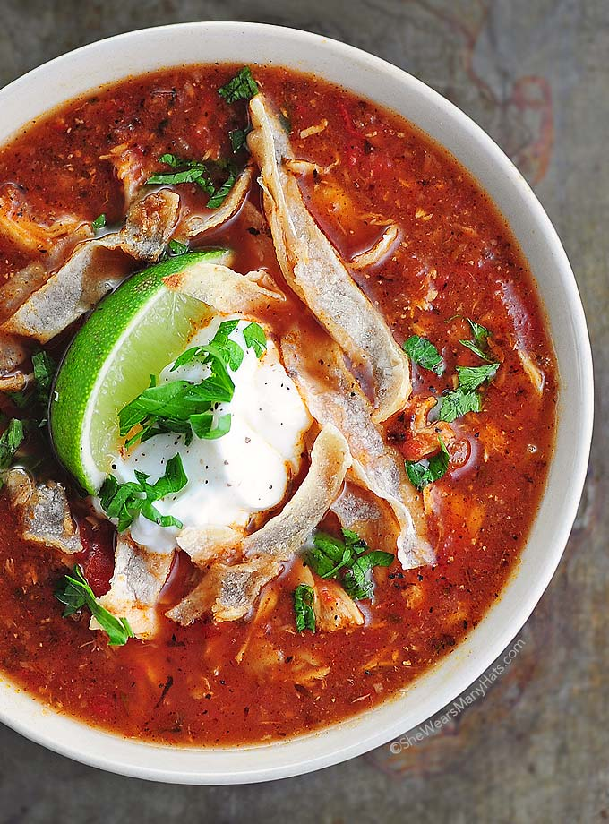Chicken Tortilla Soup Recipe Food Network