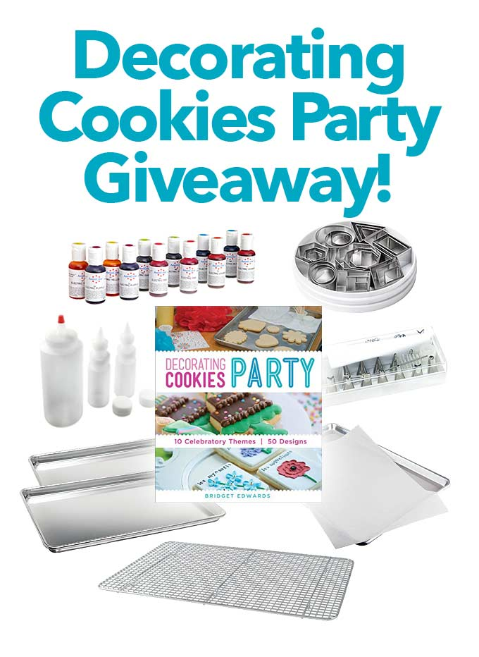 Decorating Cookies Party Book Giveaway She Wears Many