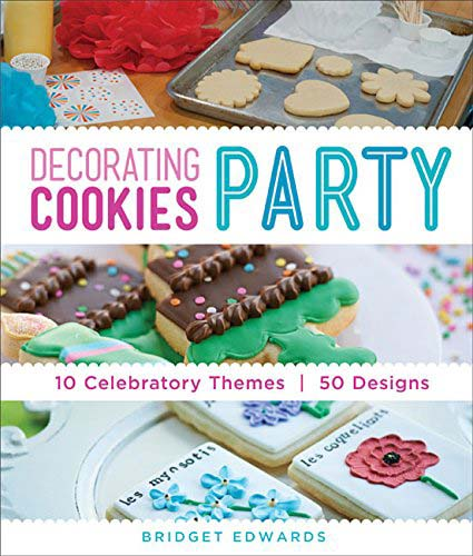 decorating cookies party book