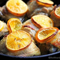 Orange Baked Chicken Recipe