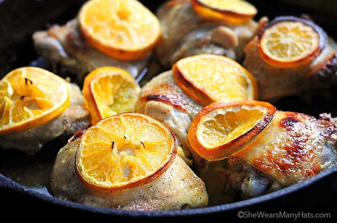 Orange Baked Chicken Recipe
