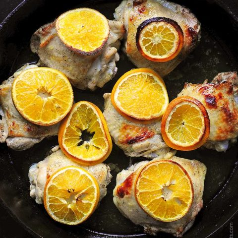 Easy Orange Baked Chicken Recipe