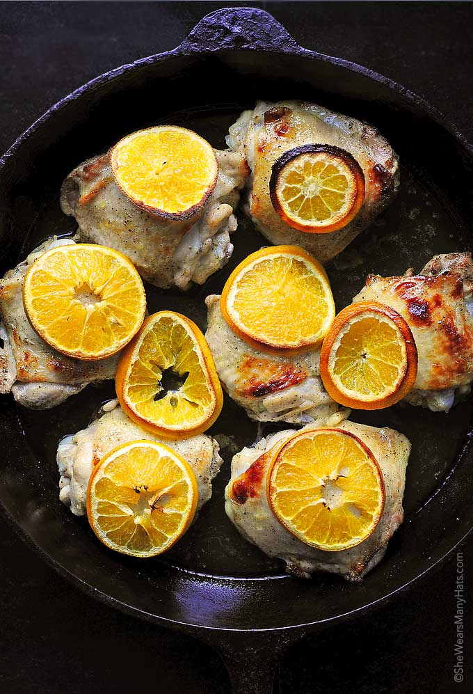 Easy Orange Baked Chicken Recipe