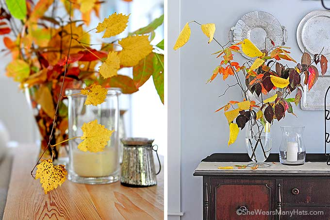 Decorating for any fall occasion is easy and inexpensive with these ideas for Easy Fall Decorations.