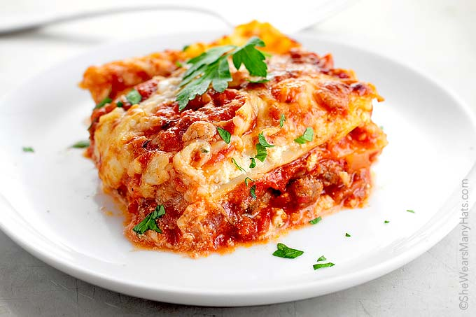 Perfect Lasagna Recipe She Wears Many Hats