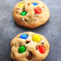 Pretzel M&M Cookies Recipe