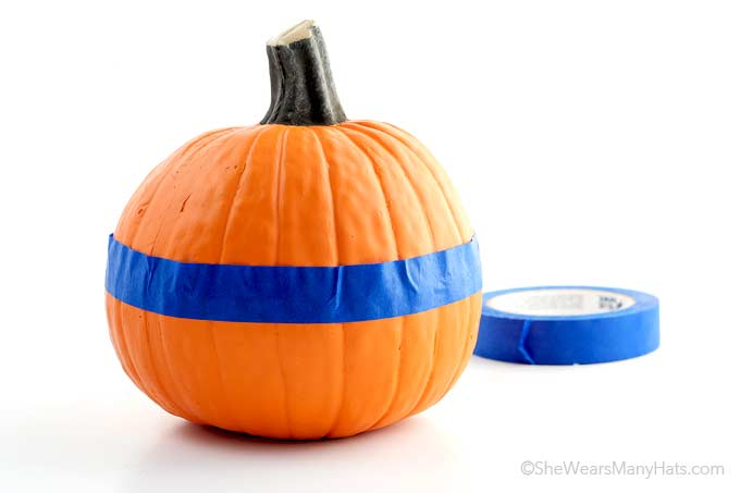 easy diy painted pumpkins she wears many hats