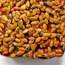 Make this super satisfying sweet Pumpkin Praline Topping to add to all kinds of goodies.