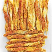 Smoky Spicy Cheese Straws Recipe