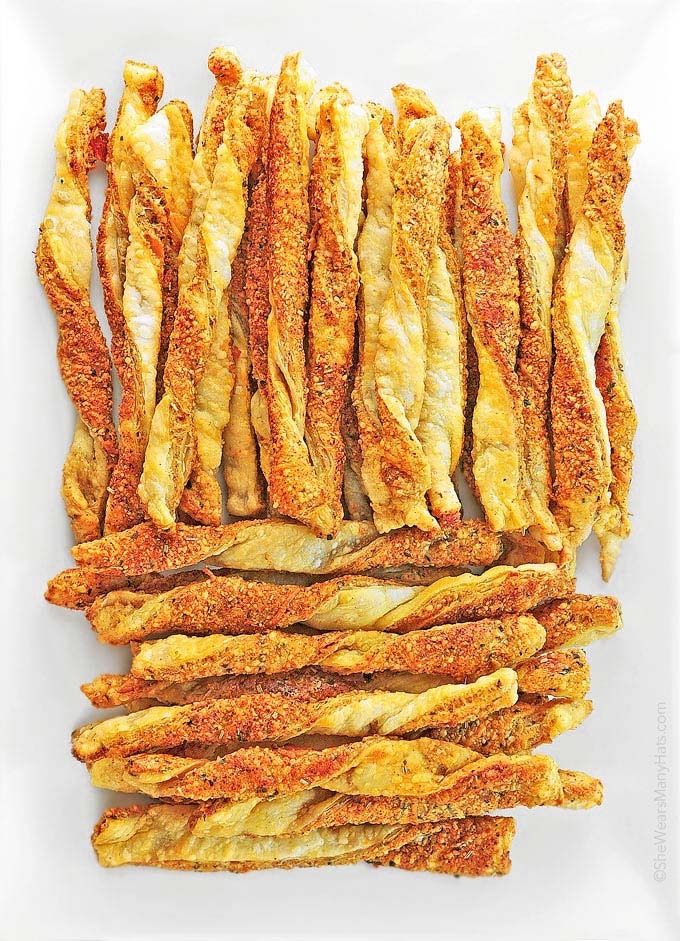 Make this Smoky Spicy Cheese Straws Recipe for your next get-together ...